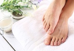 What happens during a pedicure?